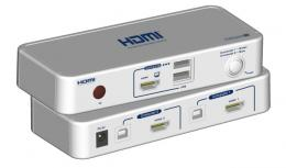 2-Port KVM-Switch HDMI-USB,