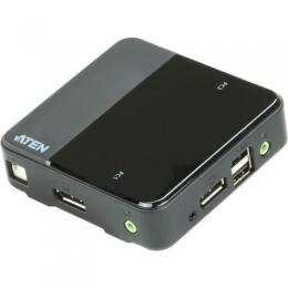 ATEN CS782DP KVM-Switch 2-fach, DisplayPort, USB, 4K