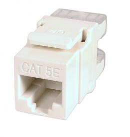 Cat.5e RJ45 Keystone Jack UTP, Snap-In, mit LSA Leiste