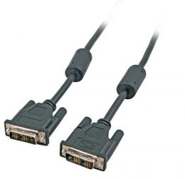 DVI Monitorkabel Single Link,DVI-Digital 18+1, AWG28, 2m