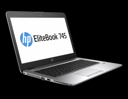 HP EliteBook 745 G4 14 Zoll 1920x1080 Full HD AMD Pro A10 256GB SSD 8GB Windows 10 Pro MAR Webcam