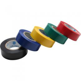 InLine Isolierband, 5er Pack, div. Farben, 18mm, 9m