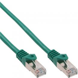 InLine Patchkabel, SF/UTP, Cat.5e, grn, 15m