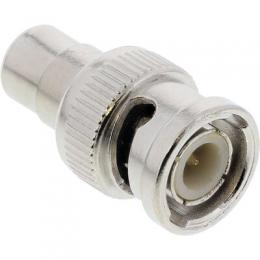 InLine Video Adapter, 1x Cinch Buchse auf BNC Stecker