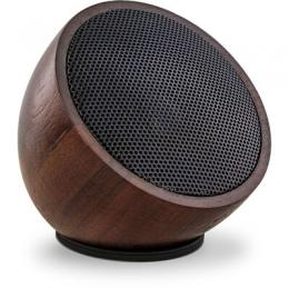 InLine woodwoom, Mini Bluetooth Walnuss-Holz Lautsprecher, 52mm