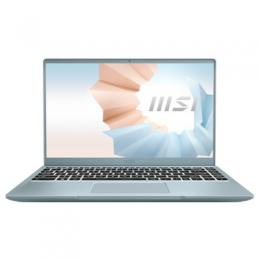 MSI Modern 14 B11SB-085 Blue Stone 14 FHD IPS Display, Intel i7-1165G7, 16GB RAM, 512GB SSD, GeForce MX450, Windows 10