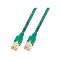 Patchkabel RJ45, F/UTP, Cat.5e, TM11, UC300, 1,5m, grün