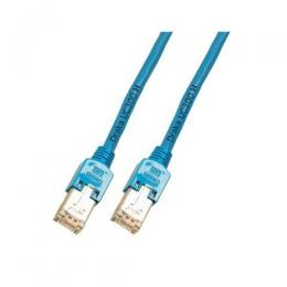 Patchkabel RJ45, F/UTP, Cat.5e, TM11, UC300, 1m, blau