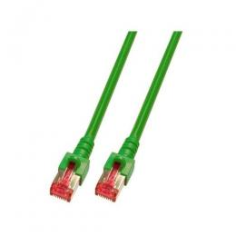 Patchkabel RJ45, S/FTP, Cat.6, LSZH, 20m, grün