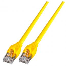 Patchkabel RJ45, S/FTP, Cat.6A, AMP EMT, UC900, 1,5m, gelb