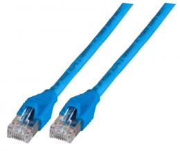 Patchkabel RJ45, S/FTP, Cat.6A, AMP EMT, UC900, 25m, blau