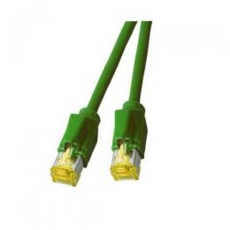Patchkabel RJ45, S/FTP, Cat.6A, TM31, Dtwyler 7702, 10m, grn