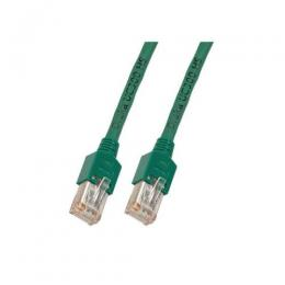 Patchkabel RJ45, SF/UTP, Cat.5e, TM11, UC300, 0,5m, grn